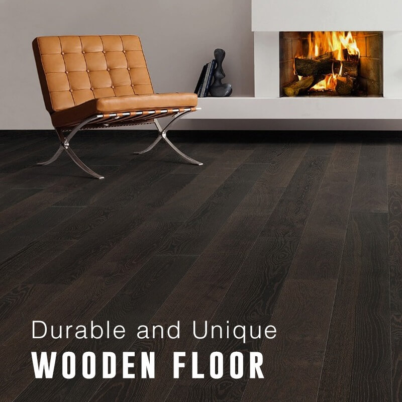 Durable and Unique Wooden Floor