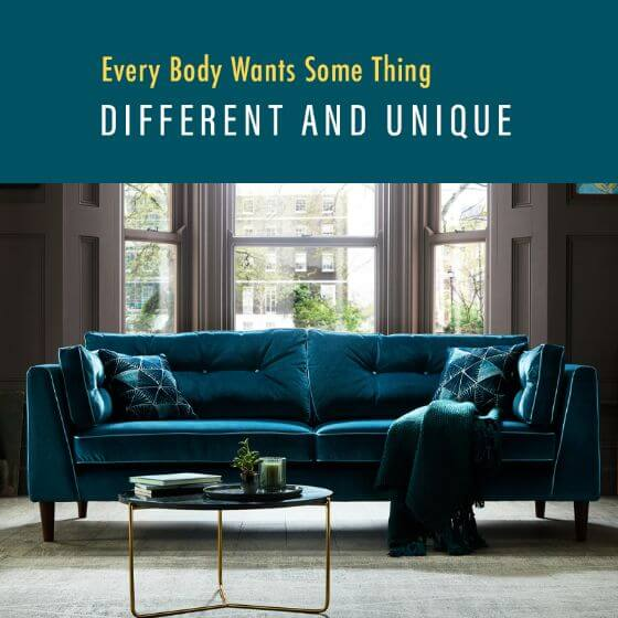 Different & Unique Sofa's
