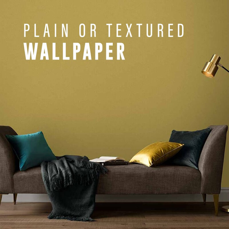 Plain & Textured Wallpaper